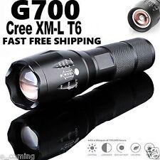 BRIGHT 5000Lumen G700 Tactical Flashlight Cree LED Military Alonefire ShadowHawk