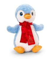 Keel Toys Christmas 25cm Penguin with Scarf Cuddly Soft Toy Plush Teddy SX2669