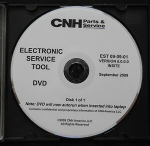 CUSTODIA HOLLAND CNH ELECTRONIC SERVICE TOOL SOFTWARE VERSION 6.0.0.0 SEPT 2009
