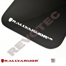 Rally Armor Mud Flaps For 2017-2019 Ford F-150 Raptor w White Logo