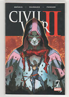 Civil War 2 #7 Iron Man Captain Marvel Inhumans Spiderman Hulk Brian Bendis 9.6