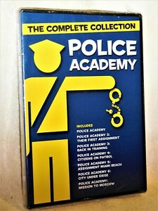 Police Academy 7-Film Collection (DVD, 2018, 4-Disc) NEW Steve Guttenberg comedy