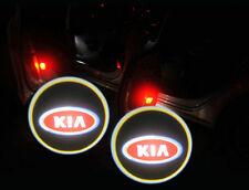 2 X LED Laser Einstiegsleuchte Tür Projektor Logo Licht light Für Kia Serie Rot