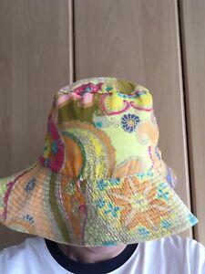 70's Multicoloured Sun Hat