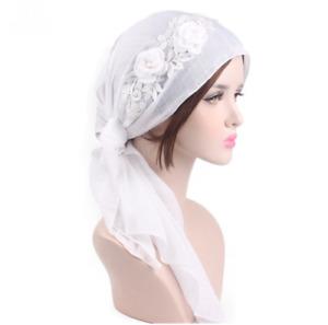 Muslim Hijab Cancer Chemo Hat Turban Cap Cover Head Wrap Bandana Soft Headscarf
