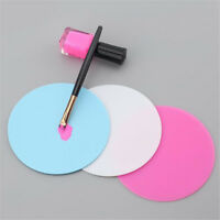 Silicone Paint Palette Mat Blossom Foldable Washable Nail Art Stamping Pad HS