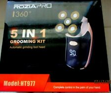 RoziaPro 360 5 in 1 Grooming Kit (HT977) Waterproof Rotary Shaver & Trimmer   R2