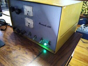 Vintage D & A Maverick 250 Watt Tube Linear Amplifier