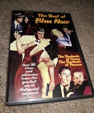 Best of Film Noir (DVD, 1999) THE DARKSIDE OF CRIME PASSION HOLLYWOOD FREE SHIPP