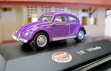 MODEL POWER diecast car VW Beetle #19173 1:87 HO Scale New in box