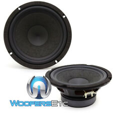 "OPEN BOX HERTZ SV200L 8"" SPL SHOW 500W COMPONENT WOOFERS 4 OHM SPEAKERS"
