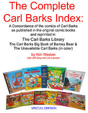 The Carl Barks Library Index  SPECIAL EDITION