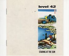 CD LEVEL 42 staring at the sun HOLLAND 1988 EX+   (B0210)