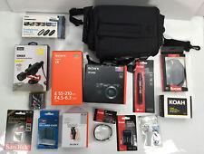 Sony Alpha A6400 Digital Camera Body, Sony Alpha Sel55210 Lens With Accessories