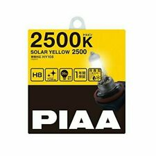 PIAA (peer) halogen bulb [solar yellow 2500K] for inspection 1 year warranty H8