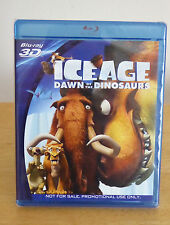 ICE AGE DAWN OF THE DINOSAURS BLU-RAY 3D - PANASONIC EXCLUSIVE - BRAND NEW