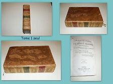 Dictionnaire François de la Langue Oratoire et Poétique Tome 1 Seul sur 3 - A-E.