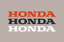 Honda logo Decal sticker motorcycle tank civic side fairing cover cowl panel cbr
