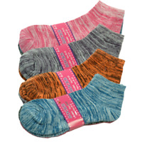 Women 3-12 Pairs Casual Thin Galaxy Cotton Ankle Quarter Crew Socks Stretch 9-11