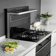 Black 24in. Built-in 4 Burners Gas Cooktop Ng/Lpg Hob Tempered Glass Cooktops