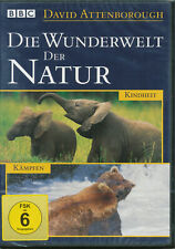 Die Wunderwelt Der Natur -Kindheit--Kämpfen DVD NEU+OVP