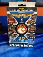 2019-2020 PANINI CHRONICLES NBA BASKETBALL HANGER BOX Brand New Factory Sealed