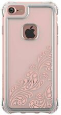 Ballistic Apple iPhone 7 iPhone 8 Jewel Clear Thin Case with Rose Gold Design