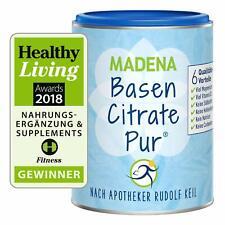 MADENA BasenCitrate Pur Basenfasten Mineralstoffe Kalium Vitamin D3 Zink 216g