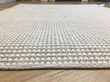 Crucial Trading Rug Sisool White Quality Binding 115x150