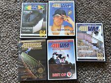 Lot of 5 Skateboarding Dvds-411 Video Magazine