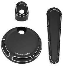 Arlen Ness Dash Pack Beveled Black For Harley Davidson FLHX 14-16 FLTRX 15-16