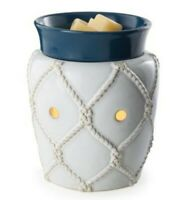 NAUTICAL ILLUMINATION ELECTRIC SCENTED FRAGRANCE WAX CUBE CANDLE WARMER - NEW