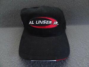 Al Unser Jr. 3 Indy Racing League Hat Cap IMS Chase Authentics OS VTG Strapback