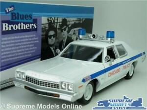 DODGE MONACO MODEL POLICE CAR 1:24 SCALE THE BLUES BROTHERS LARGE GREENLIGHT K8
