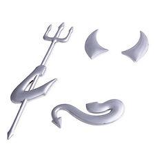 Funny 3D Angel Devil Style Demon Sticker Decal Car Badge Emblem Paper Hot