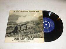 """CALEDONIAN ENGINES - 1963 UK 2-track 7"""" vinyl single"""