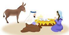 Sizzix Bigz Nativity Set #1 4-die #A10417 Retail $79.99 Cuts fabric!