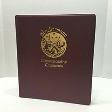 Biedermann Commemorative Ornaments Collectors Album / Binder