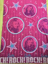 GIRLS DUVET COVER HANNAH MONTANA WITHOUT A PILLOWCASE USED GOOD CONDITION