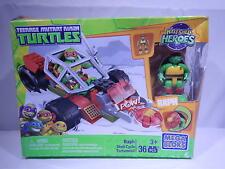 Mega Bloks Teenage Mutant Ninja Turtles Raph Shell Cycle Raphael T1