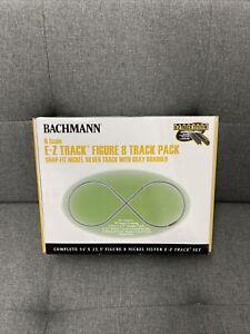 Bachmann N Gauge Figure 8 E-Z Track Pack NIB 44878 NEW Nickel Silver