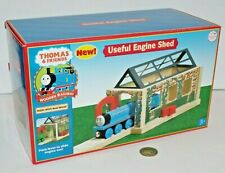 Thomas Train & Friends Tank Wooden Railway - Useful Engine Shed - NEW in Box