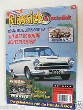 KET-031,LOTUS CORTINA,HONDA S800, MERCEDES SL,SLC,BMW R50S BIKE,VW KEVER,BEETLE,