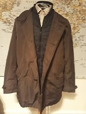 """M&S Mens Chocolate Casual Coat Jacket Size L Large 41"""" to 43"""" Chest"""
