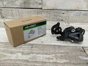 microSHIFT M26 Rear Derailleur - 789 Speed Long Cage Black