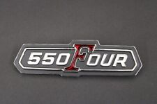 Honda CB550 K  Side Panel Badge  / Emblem 750 FOUR