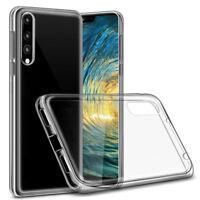 Para Huawei P20 Pro/Lite Lujo Cuero Clear Espejo Abatible De pie Estuche Funda