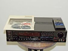 VINTAGE TECHNICS SA-R330 MINT CONDITION RECEIVER MADE IN JAPAN REMOTE AND MANUAL