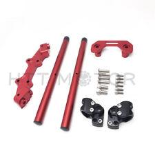 CNC Ajustable Manillar con / Adaptador para 2014-2017 Ducati Monster 821 1200