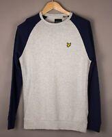 Lyle & Scott Herren Freizeit Pullover Sweatshirt GRÖSSE S ATZ153